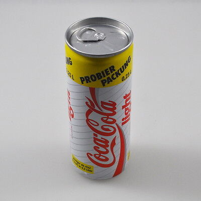 25cl Coca Cola Light Dose mit Inhalt, voll, ungeöffnet, unopend can Germany 1990