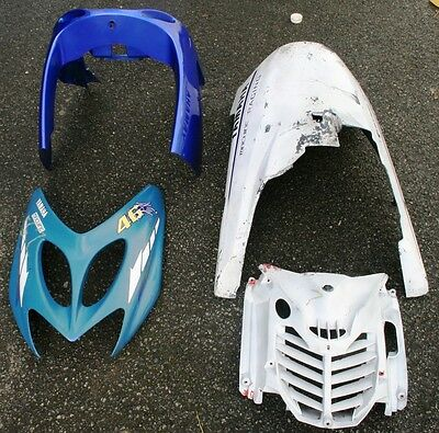 Yamaha Yq100 Yq 100 Aerox A/c 2001 01 Belly Pan Lower Front Fairing Front Panel