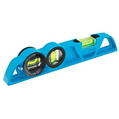 OX Trade 250mm Magnetic Torpedo Spirit Level