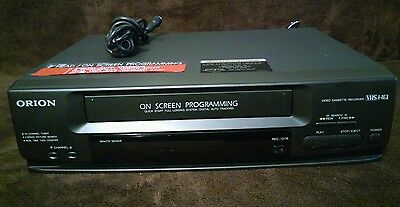 Orion VHS Video Cassette Recorder  VRO220 Player HQ - VCR