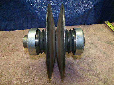 """Lovejoy 21902 Variable Speed Double Spring Pulley 7/8 bore 8"""" dia 6-3/4"""" width"""