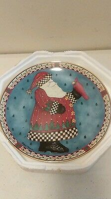THE FRANKLIN MINT Royal Doulton A Christmas greeting Collector Plate
