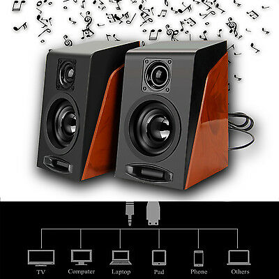 3.5mm Mini Subwoofer Restoring Ancient Ways Desktop Small Speakers Xmas Gift