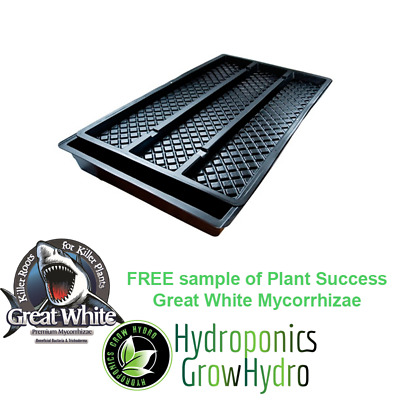GT150 Complete NFT Hydro Tray Kit  - free Great White sample 15g