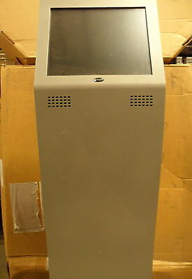 KIOSK BRAND BASIC STEALTH MODEL STAND w/ TOUCH SCREEN MONITOR