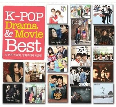 K-Pop Drama & Movie Best [CD New]