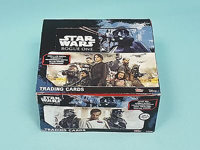 Topps Star Wars Rogue One 1 x Display / 50 Booster Trading Cards Neu & OVP