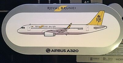 New Airbus Sticker Royal Brunei AIRBUS A320
