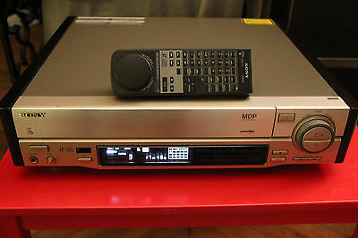 Sony MDP 740D PAL Laserdisc Player Remote Control  LD CDV CD Champagne ES