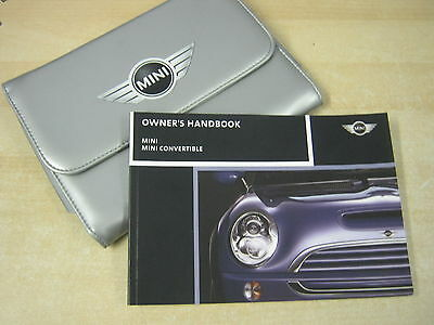 Bmw Mini And Convertible Handbook  Owners Manual 2003-2008