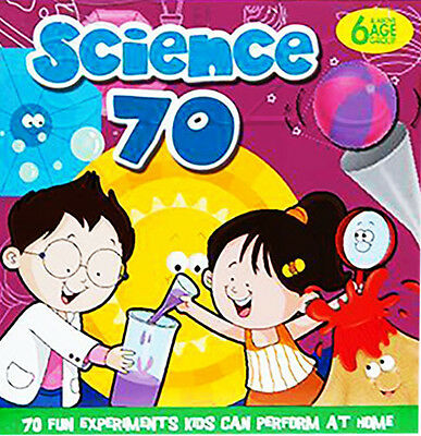 70 Science Experiments Kids Educational Home Gift Set Activity Learning Fun