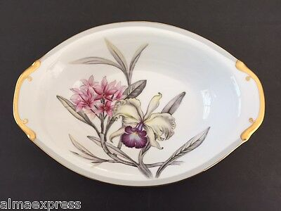 "Royal Embassy (Grace) Fine China of Japan CHARLESTON - 11"" OVAL VEGETABLE BOWL"