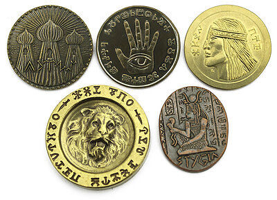 Conan Set #2 - deluxe set of five coins from the Hyborian Age