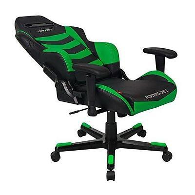 Dxracer Drifting Gaming Chair Bk/gn| Oh/df166/ne, Oh/df
