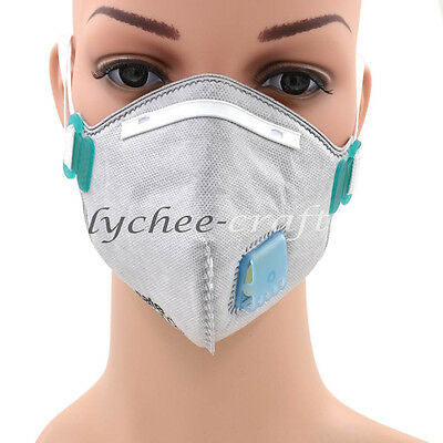 Activated Carbon Anti Dust Half Face Mouth Mask Respirator Filter Air Safety New