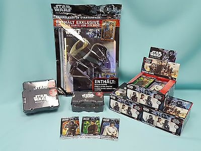 Topps Star Wars Rogue One Starterpack Booster Display Collector Box aussuchen