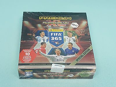 Panini Adrenalyn XL FIFA 365 2017 1 x Display Premium Pack  / 12 Booster Neu OVP