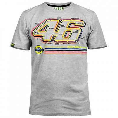 New Official Valentino Rossi VR46 2016 Underracing T Shirt - VRMTS 207505