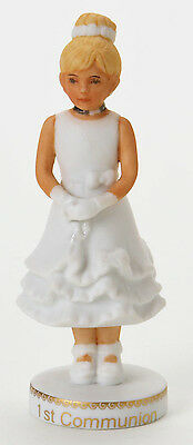 Enesco- Growing Up Girls - Blonde First Communion Figurine, 4007029