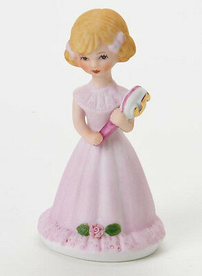 Enesco- Growing up Girls - Blonde Age 5 Figurine, E2305