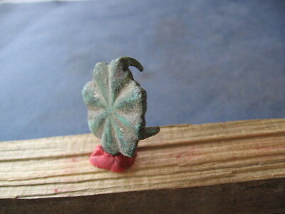 Large Flower Form Druids Application Ancient Celtic Bronze Pendant 600-400B.c.