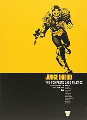 Judge Dredd: Complete Case Files, Vol. 2 by Mills, Pat Paperback Book The Cheap