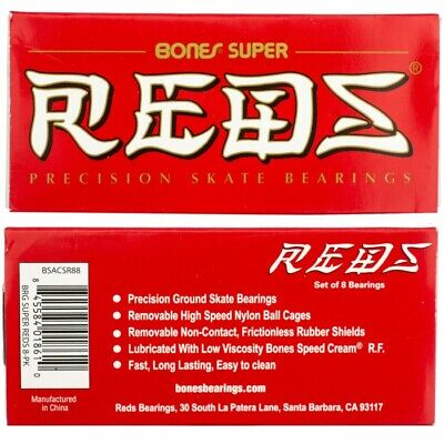 Bones Super Reds-Precision bearings Skateboard