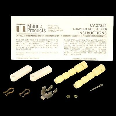 Teleflex Morse Boat 3300 To 33C Cable Adapter Kit CA27321P | Four Winns 041-047