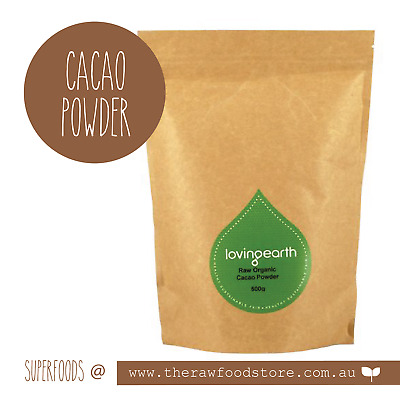 Raw Cacao Powder - Organic - Loving Earth