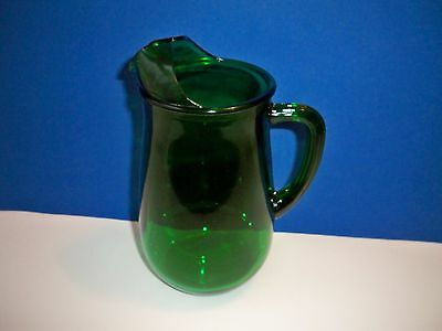 Anchor Hocking FOREST GREEN 36 oz Pitcher
