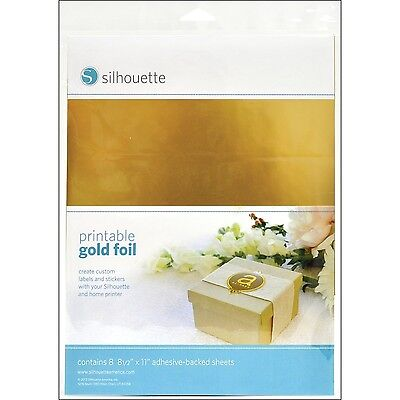 Silhouette Printable Foil Gold