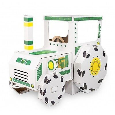 Small Foot 10016 Tractor Cardboard House