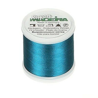 Drk Turquo-Madeira Rayon Thread