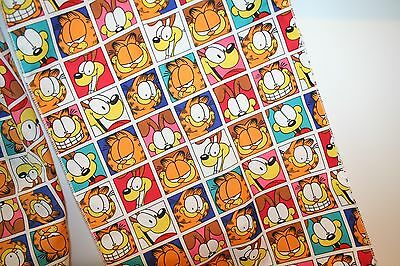 Vintage Garfield and Odie Cartoon Scarf 100% Polyester 60 inches x 10-1/2 inches