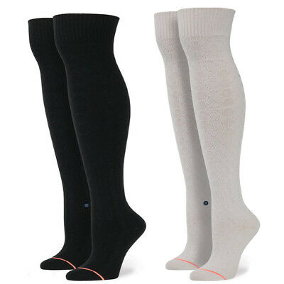 "Stance Women's ""Pom Pom"" Knit Over the Knee Double Cylinder Socks Tights"