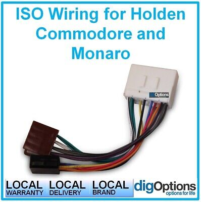 #ISO Universal Cable Install Adapter Wire  for Holden Commodore VT VX 1997- 2002