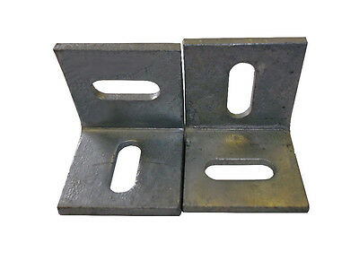 Birkdale Pair of 50mm Galvanized Angle Cleats