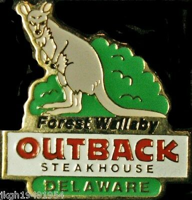 A1960 Outback Steakhouse Delaware Forest Wallaby
