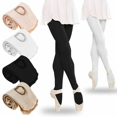 Childrens Adult Full Footed Revolution Ballet Dance Tights Dancewear Stocking