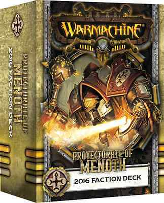 WarMachine- The Protectorate Of Menoth 2016 Faction Deck