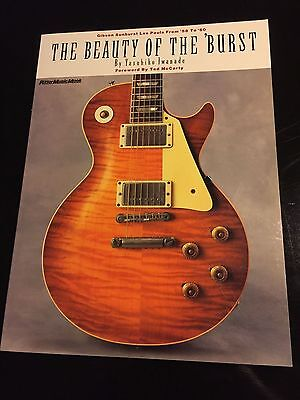 Extremely RARE The Beauty of the Burst Signed by Iwanade 59 Les Paul 58 60 1959