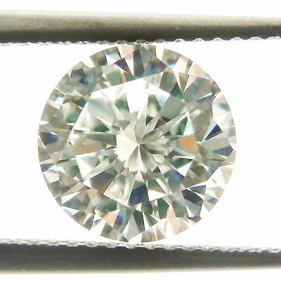 0.62CT (5.50mm) Round Cut D Color My Russian Diamond Simulated Lab Created Loose