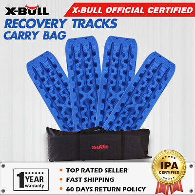 X-BULL NEW Pair Recovery Tracks /Sand Track/Mud  Blue Trax Off Road 4WD 4x4 Car