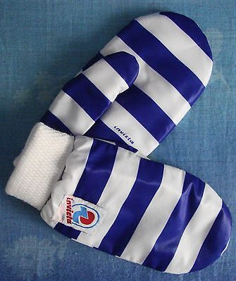GLOVES guanti muffole vintage 80's INVICTA  tg.M Made in Italy New!  RARE