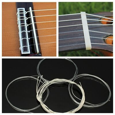 6 Durable Classic Guitar Strings 6 Tyle Nylon Light Acoustic Musical Instruments