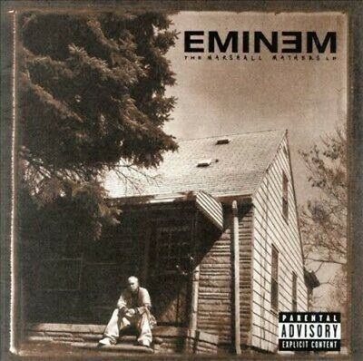 Eminem - The Marshall Mathers LP [New CD] Explicit