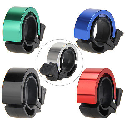 Bike Bicycle Invisible Bell Aluminum Loud Sound 22.2-24mm Handlebar Safety Horn
