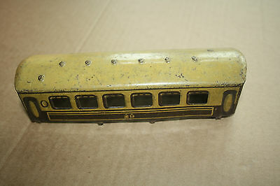 A beautiful  OLD TINPLATE TOY as a  DESK or BOOKCASE ORNAMENT Hornby 'O' gauge