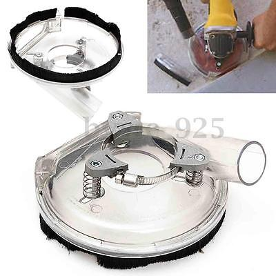 1x Clear Dust Shroud Kit Dry Grinding Cover for Angle Hand Grinder 4''& 5''