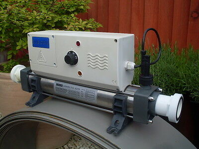 Elecro 9kw swimming pool heater picclick uk for Koi pool heaters